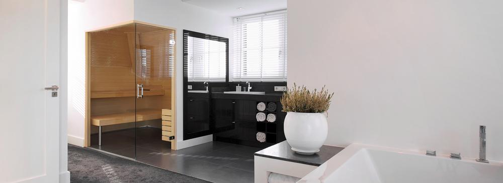 mooie sauna in huis